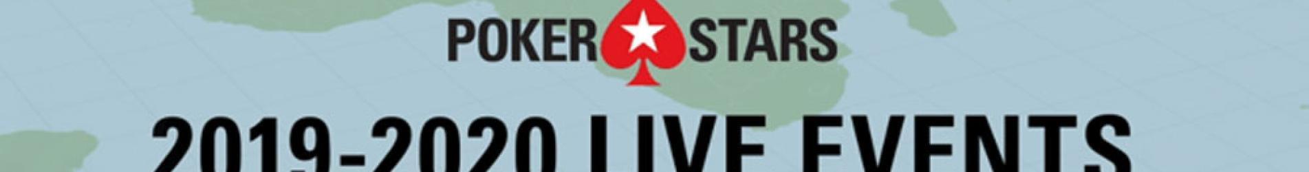 بوكرستارس تؤكد 21 حدثًا مباشر خلال عام 2020 - PokerStars
